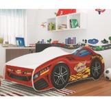 Kleinkinbett von Relita als Rennwagenbett in Kinderzimmer